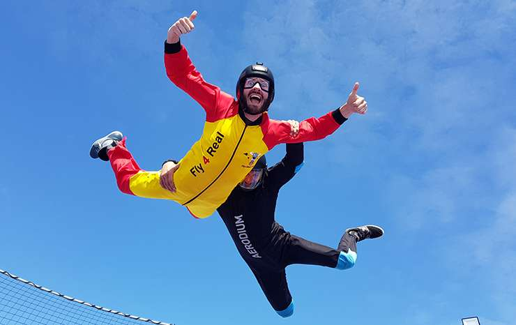 Spain's first outdoor skydiving simulator opens in the Malaga Province